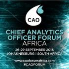 Chief Analytics Officer Forum Africa 2016