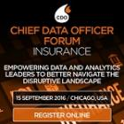 Chief Data Officer Forum Insurance 2016