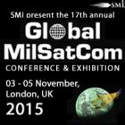 Limited places remaining for Global MilSatCom 2015