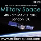 The 10th annual Military Space conference returns to London in one months time