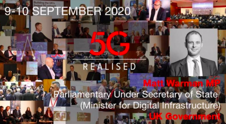 Matt Warman, Minister for Digital Infrastructure on the future of 5G in the UK