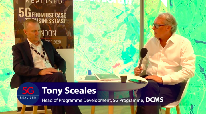 Tony Sceales, Head of 5G Programme at DCMS on differences in 5G Industry.