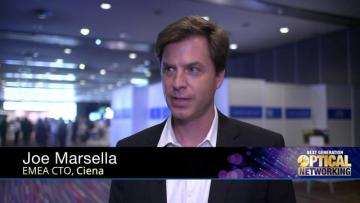EMEA CTO of Ciena at Next Generation Optical Networking 2015 in Nice
