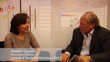 Nasrin Dayani, Executive Director mHealth and TeleHealth Solutions, AT&T at Digital Disruption 2013