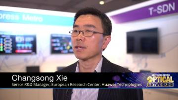 Senior R&D Manager of Huawei at Next Generation Optical Networking 2015 in Nice