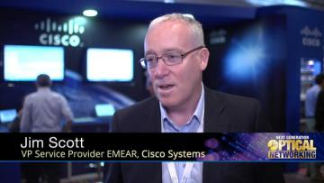 VP Service Provider EMEAR of Cisco at Next Generation Optical Networking Conference 2015 in Nice