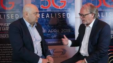 Payam Taaghol, CEO of MYCOM OSI at 5G Realised Summit